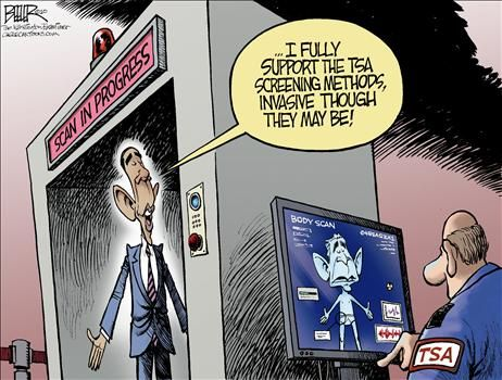Political Cartoon by Nate Beeler