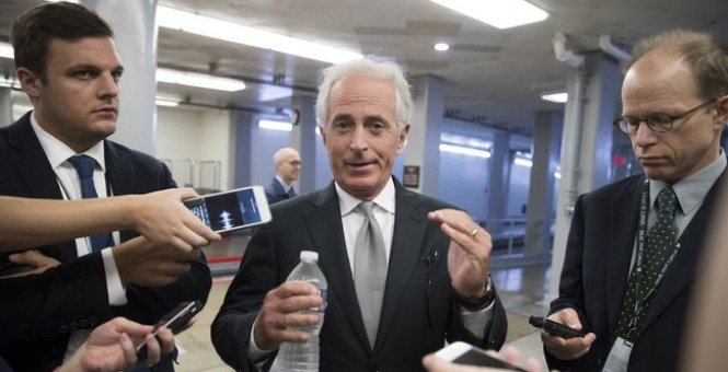 """GOP Senator Bob Corker Accuses the White House of Being an """"Adult Day Care Center"""""""