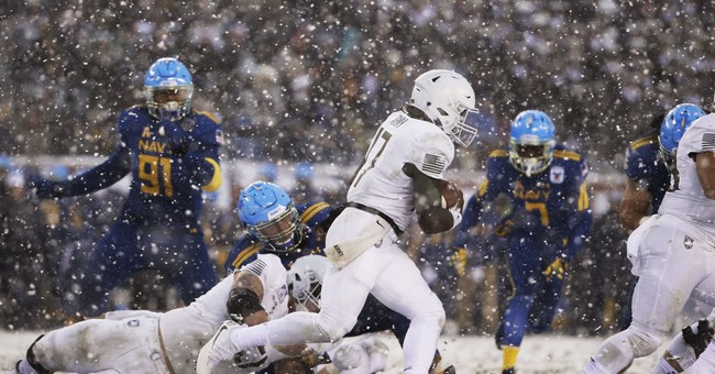 Army Defeats Navy in Philadelphia 'Snow Bowl'