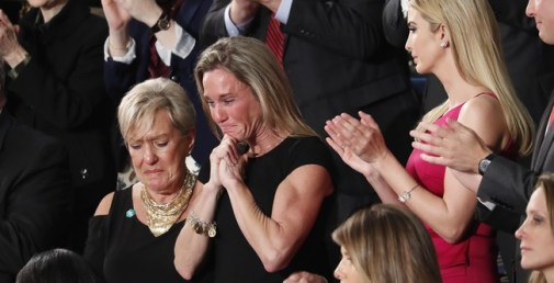 Disgrace: Keith Ellison and Debbie Wasserman Schultz Remain Seated Like Cold Stones When Navy SEAL's Widow Was Honored