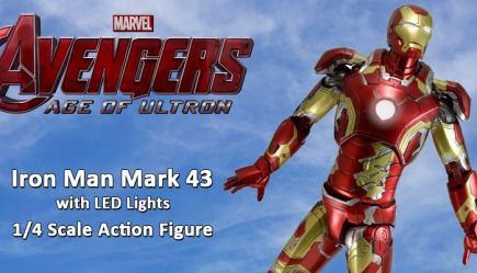 NECA Toys Iron Man 3 – 1/4