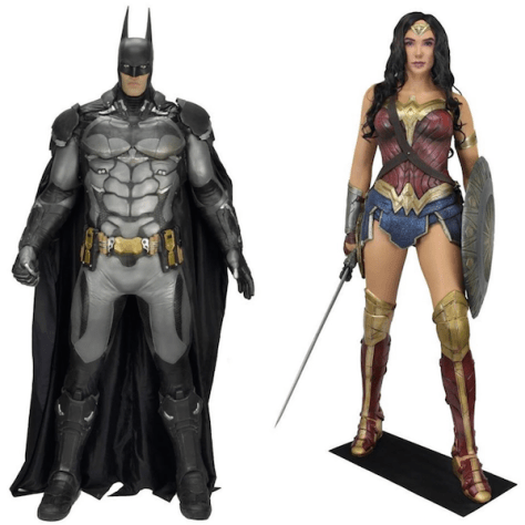 Image result for BAtman and wonderwoman NECA
