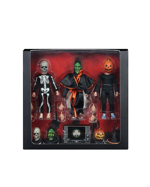 NECA Toys Halloween 3 – Season Of The Witch – 8″ Scale Clothed Figures in-Packaging