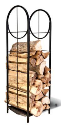 wood storage handling at tractor
