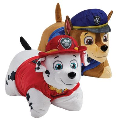 new pillow pets nickelodeon paw patrol combo pack chase and marshall pillow toys 061102cm