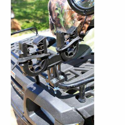coleman atv premier ezmount gear rack double black 2000012651
