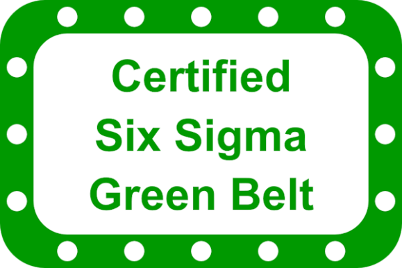 certified six sigma green belt course options