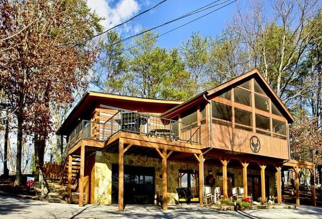 Cabins Sevierville Mountain Hidden Tn