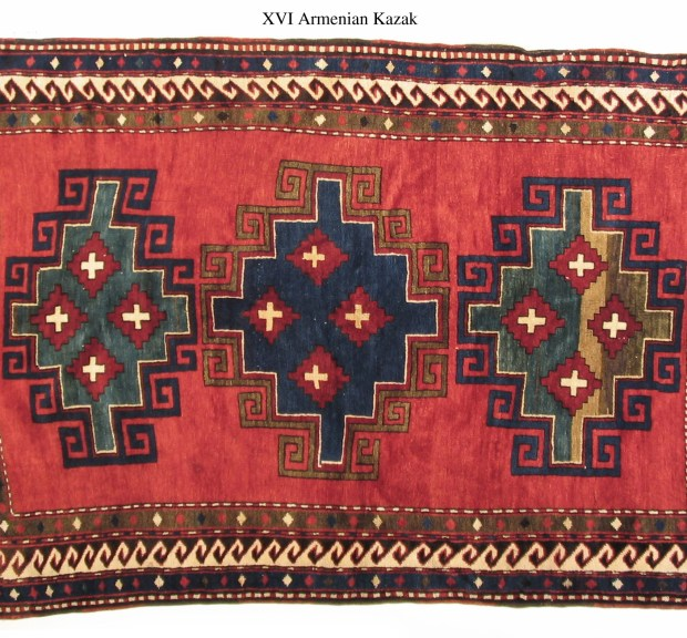 Armenian Carpet Kazak