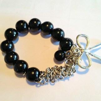 Black Pearls & Bow