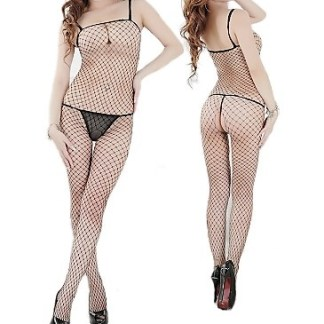 Sexy Crotchless FishNet Bodystocking