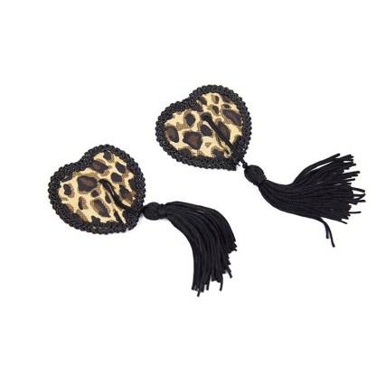 Leopard Nipple Tassel