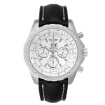 Breitling Bentley 6 75 Speed Chronograph Silver Dial Mens Watch A44364 Buy At Truefacet