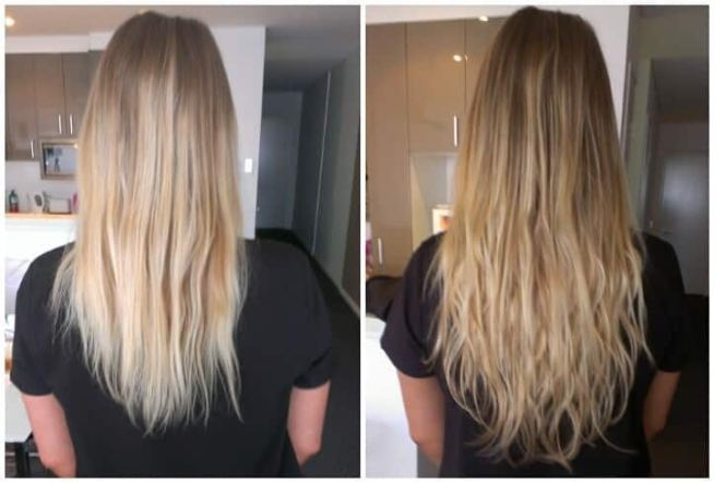 Where can i buy hair extension tape the best hair 2017 tape in hair extensions why they work bunny pmusecretfo Images