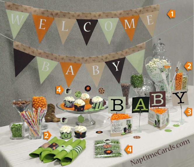 How To Make Baby Shower Decorations Awesome Easy