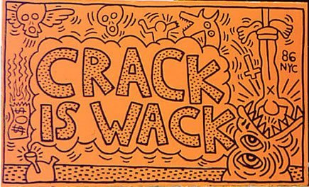 Keith Haring - 'Crack is Wack' (1986), 10 others artworks you need to know