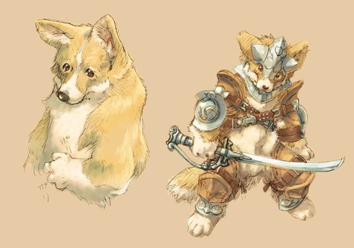 Fey Dog – A Tongue-in-Cheek Canine Race for D&D 5th Edition