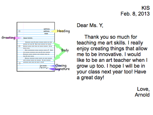 2nd Grade Digital Friendly Letters to Teachers | David Lee EdTech
