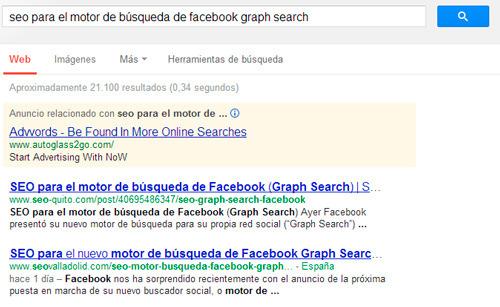 contenido duplicado en los resultados de búsqueda de Google