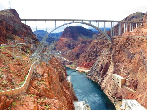 In Two States at Once: Hoover Dam - Mapping Megan