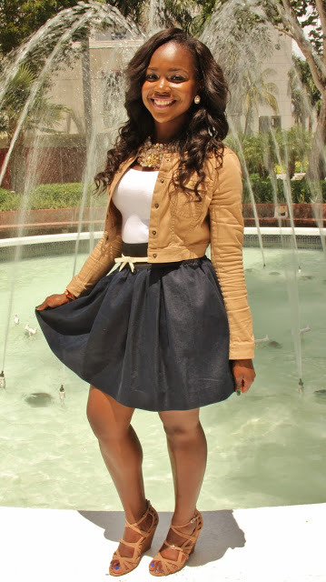 Pleated Skirts: Back to School for High School/College
