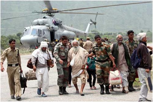 Flood-hit areas-Uttarakhand