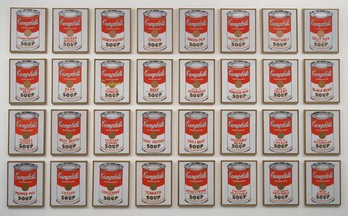 Andy Warhol – 'Campbell's Soup Cans' (1962), 10 others artworks you need to know