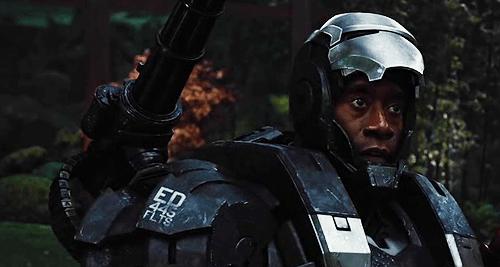 why did war machine actor change