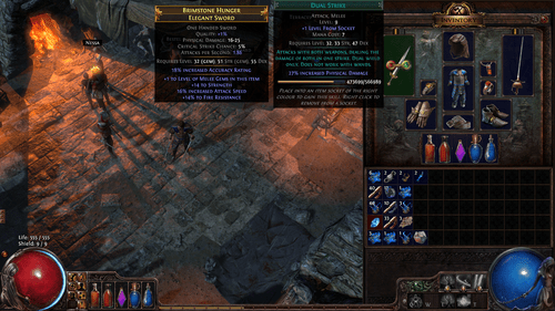 Path of Exile Crafting