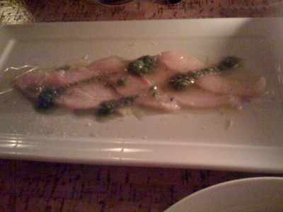 Hamachi Crudo with Chiles & Lime - From anbui.tumblr.com