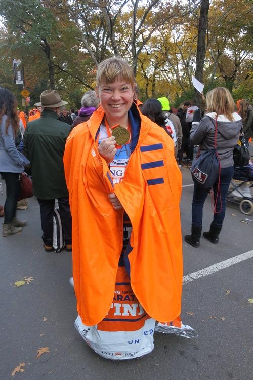 Proud ING NYC Marathon finisher.