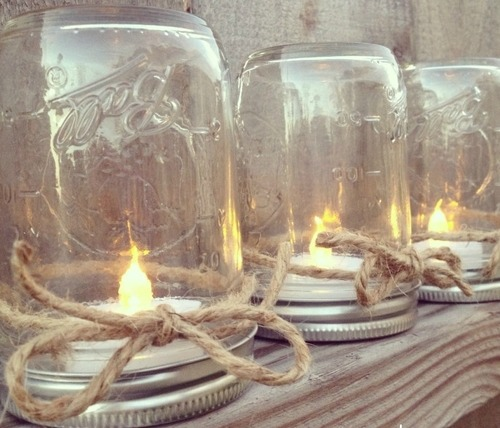 MERRY BRIDES DIY Mason Jar Table Lanterns