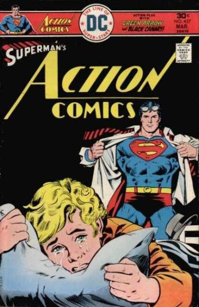 awkward superman covers