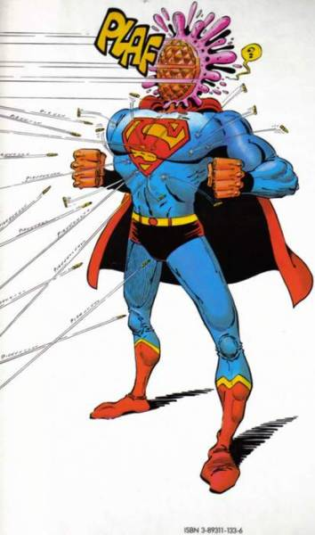 checcefrega della kryptonite, noi c'avemo le tortenfaccia