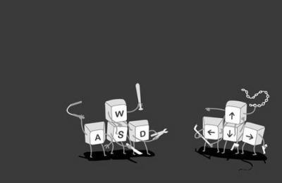 keyboard gangs war