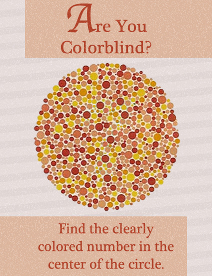 Colorblindness Test