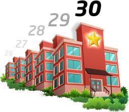 Thirty schools graphic
