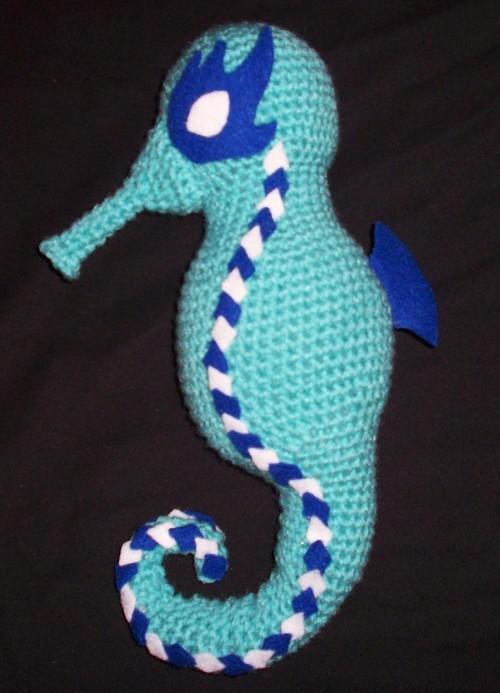 Amigurumi Seahorse Crochet Free Patterns- Crochet & Knitting | 693x500