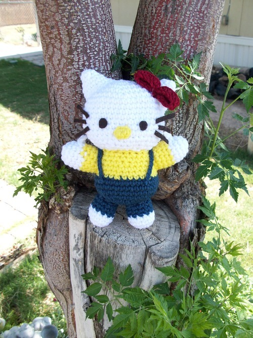 amigurumi hello kitty robotrish 2