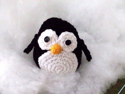 amigurumi penguin robotrish 1