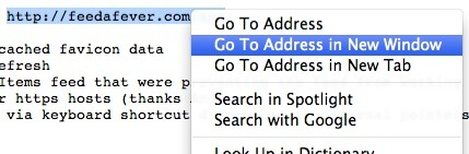 Safari's smart URL detection