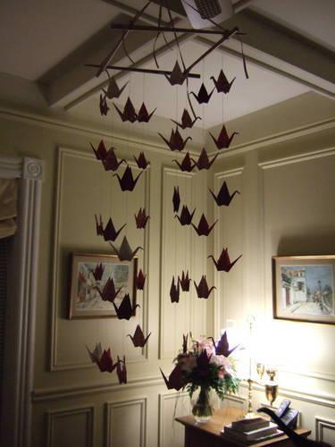 Paper Crane Decor | florenceitalia