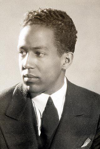Harlem Renaissance poet Langston Hughes