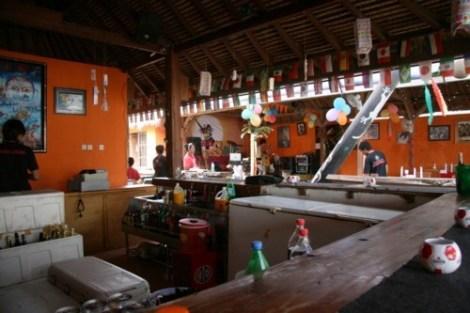 Bar du Sama Sama Reggae Bar - Gili Trawangan, Lombok
