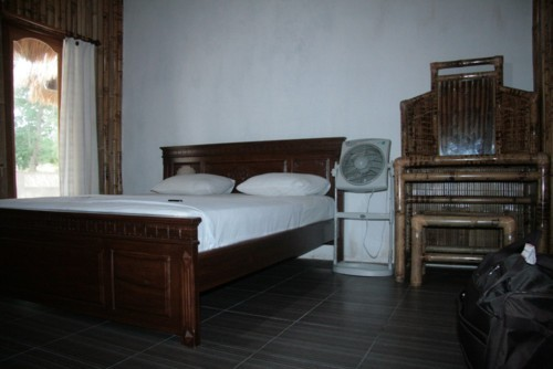 Chambre du Sunset Paradise homestay à Gili Air