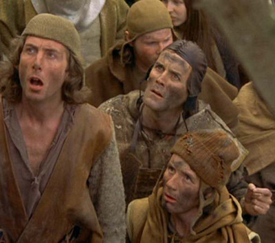 A screencap from Monty Python and the Holy Grail
