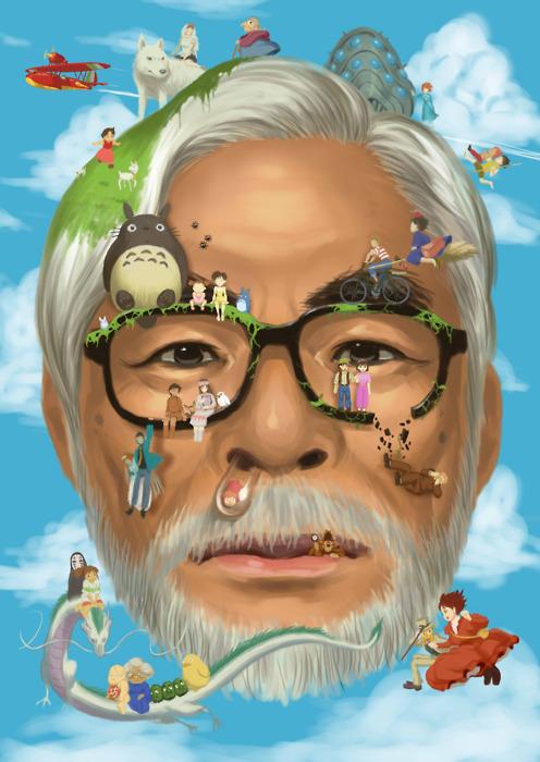 Hayao Miyazaki and His Creations