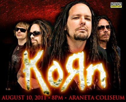 Korn Live in Manila!