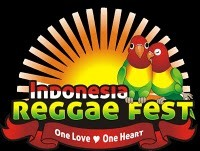 "Logo Indonesian reggae festival 2011 : ""One love, one heart"""