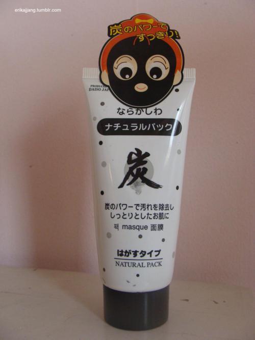 Daiso Charcoal Peel Off Mask